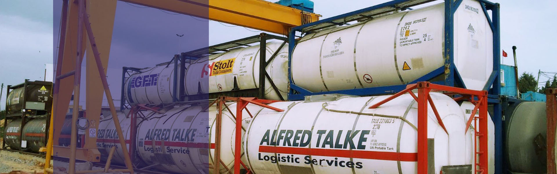TANK CONTAINER LEASING FOR INTERIM STORAGE OF LIQUID PRODUCTS